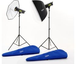 LASTOLITE by Manfrotto LL LL3500RTUK Lumen8 Studio Lighting Kit