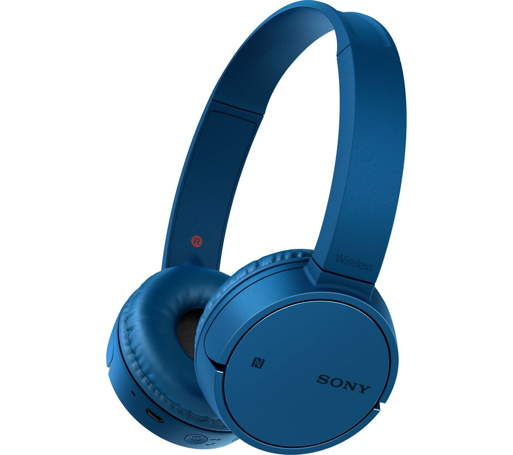 SONY WH-CH500 Wireless Bluetooth Headphones - Blue