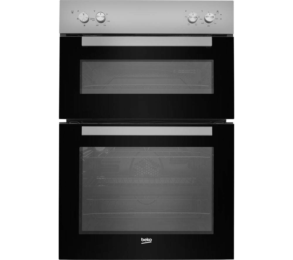 Beko Bxdf21000s Electric Double Oven Silver Free