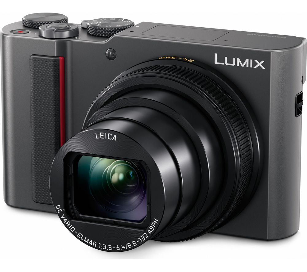 PANASONIC Lumix DC-TZ200EB-S High Performance Compact Camera - Silver