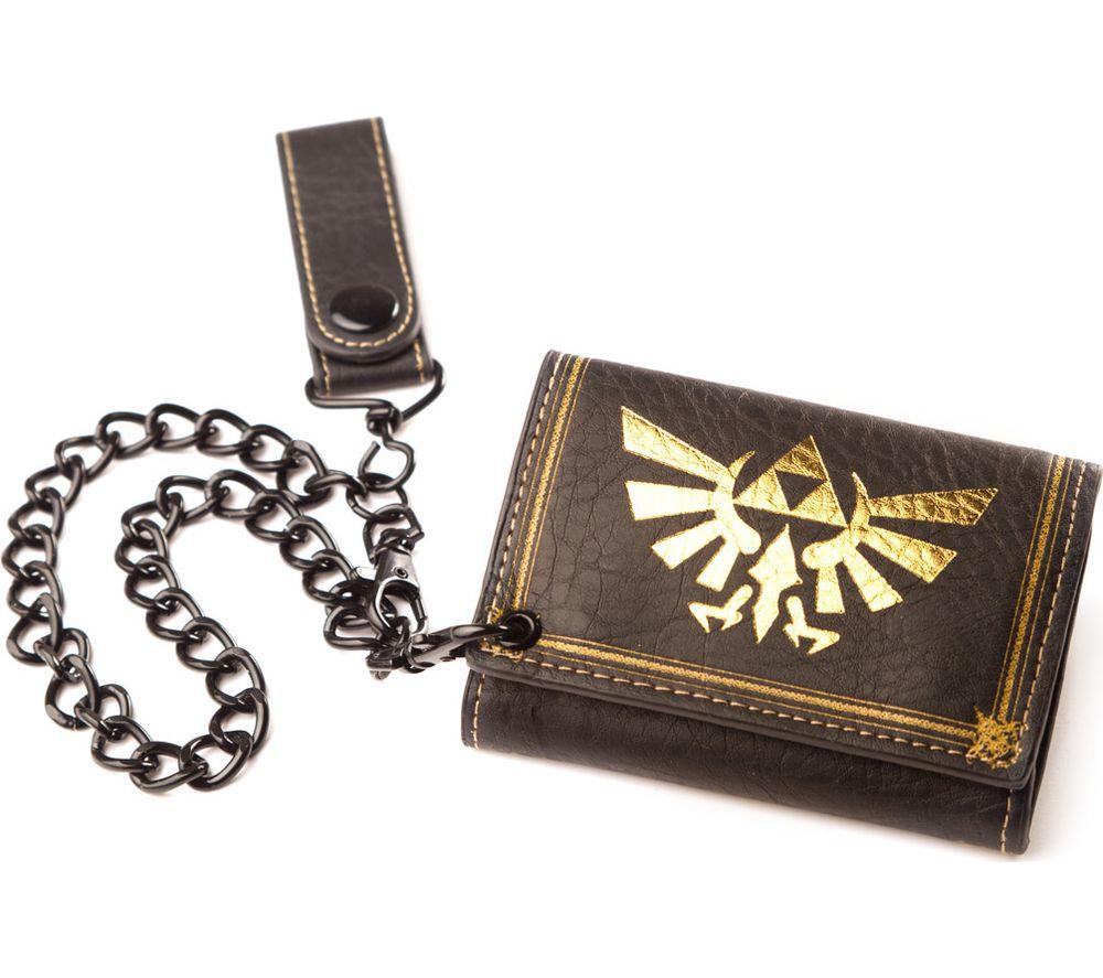 NINTENDO Zelda Twilight Princess Trifold Wallet with Chain