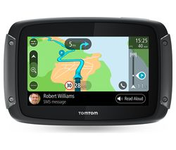 "TOMTOM Rider 500 Motorcycle 4.3"" Sat Nav - Full Europe Maps"