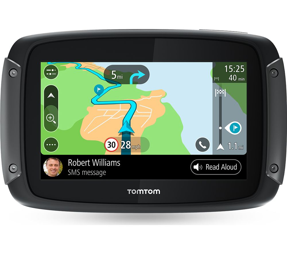 buy tomtom rider 500 motorcycle 4 3 sat nav full europe. Black Bedroom Furniture Sets. Home Design Ideas