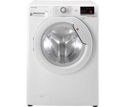 HOOVER Dynamic WDXOC 4106A Smart 10 kg Washer Dryer - White
