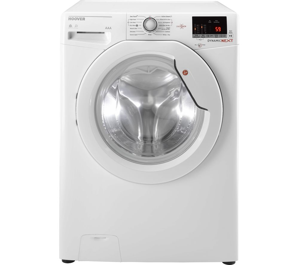Hoover Washer Dryer Dynamic WDXOC 4106A Smart 10 kg  - White