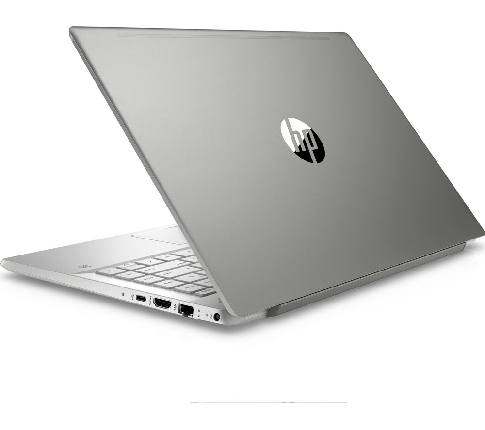 "Image of HP Pavilion 14"" Intel® Pentium Gold Laptop - 128 GB SSD, Silver, Gold"