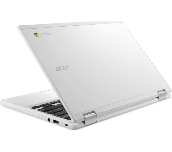 acer cb3 132 11 11 6 intel celeron chromebook 16 gb emmc white