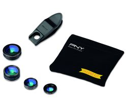PNY 4-in-1 Clip-on Smartphone Lens Kit