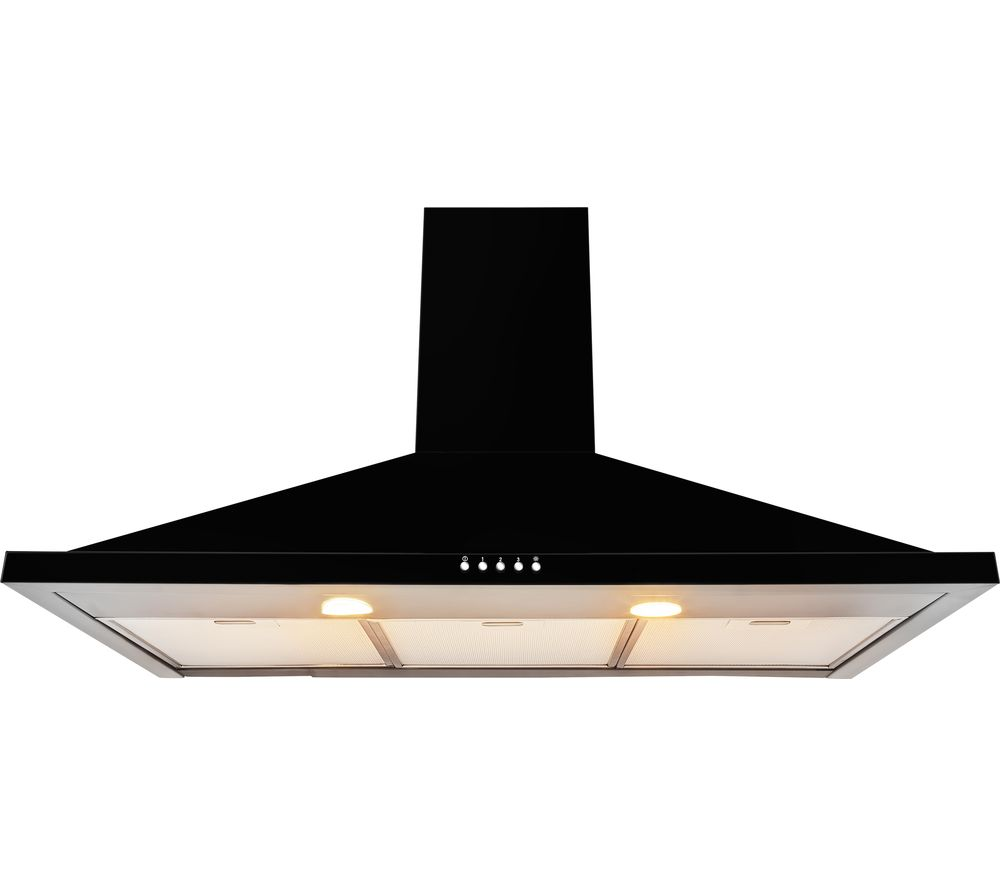LEISURE HP92PK Chimney Cooker Hood - Black