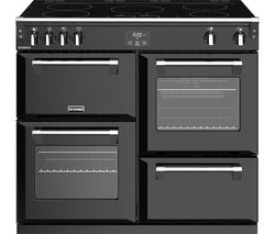 STOVES Richmond S1000Ei 100 cm Electric Induction Range Cooker - Black Best Price, Cheapest Prices