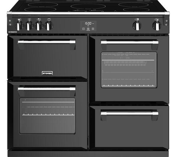 Image of STOVES Richmond S1000Ei 100 cm Electric Induction Range Cooker - Black