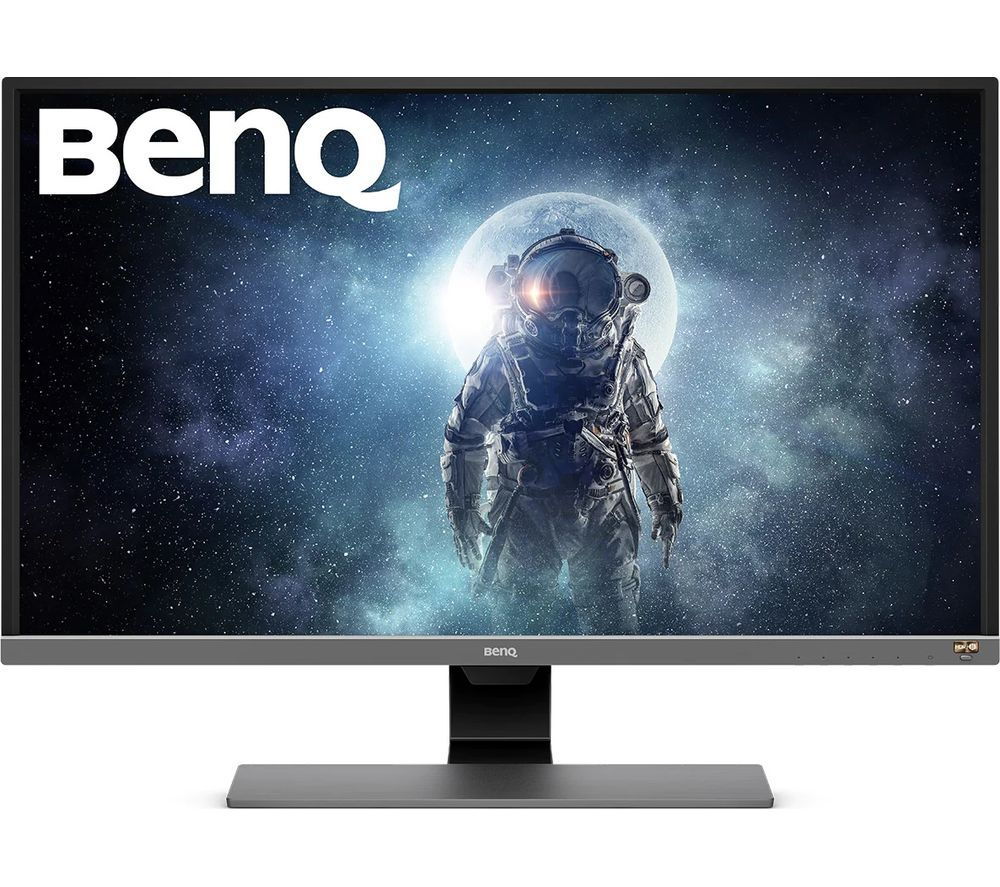 "BENQ EW3270U 4K Ultra HD 32"" LED Monitor - Black & Grey"