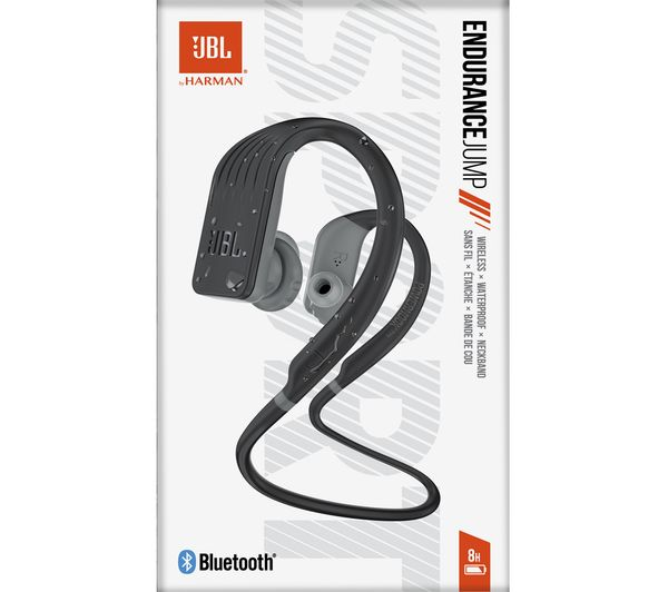 c806f4085db JBL Endurance Jump Wireless Bluetooth Headphones - Black Fast ...