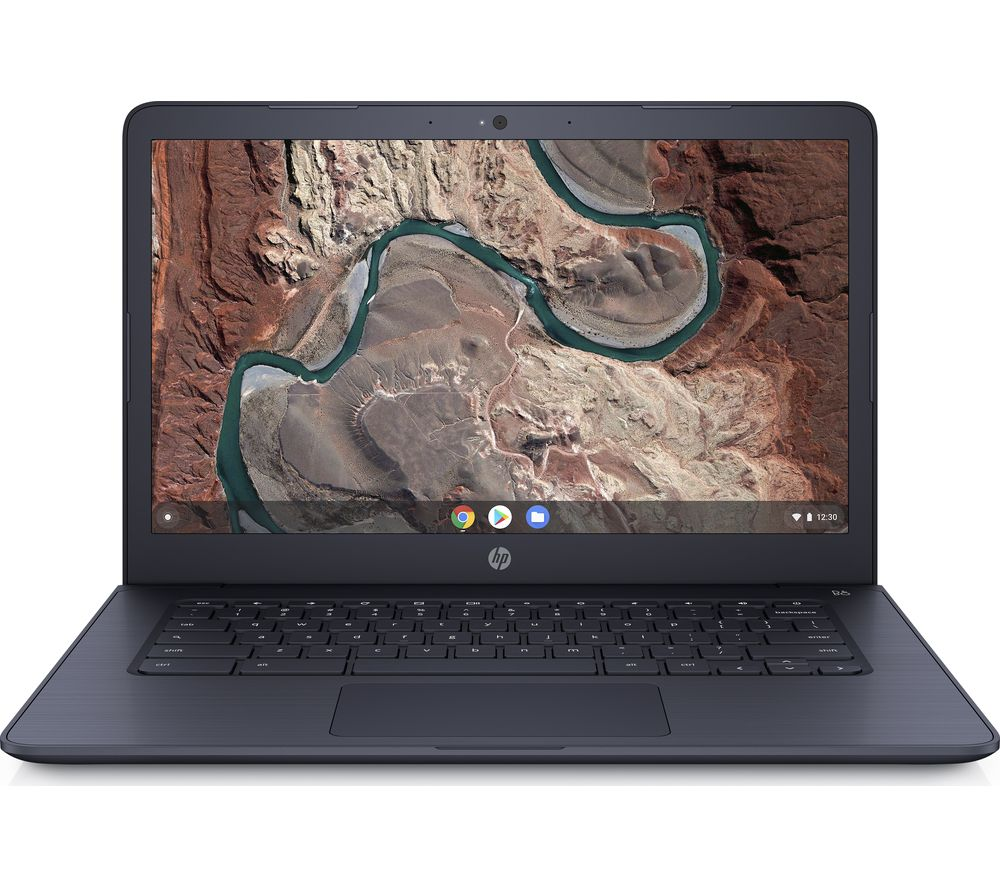 "HP 14-db0500sa 14"" AMD A4 Chromebook - 32 GB eMMC, Blue"