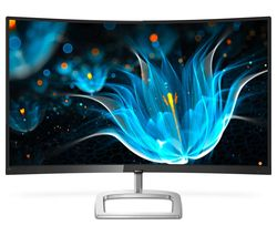 "PHILIPS 278E9QJAB Full HD 27"" Curved LED Monitor - Black"