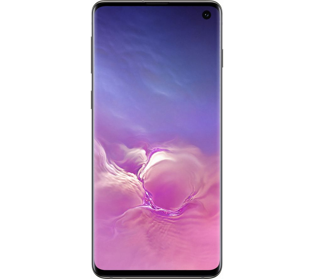SAMSUNG Galaxy S10 SIM Free - 128 GB, Prism Black