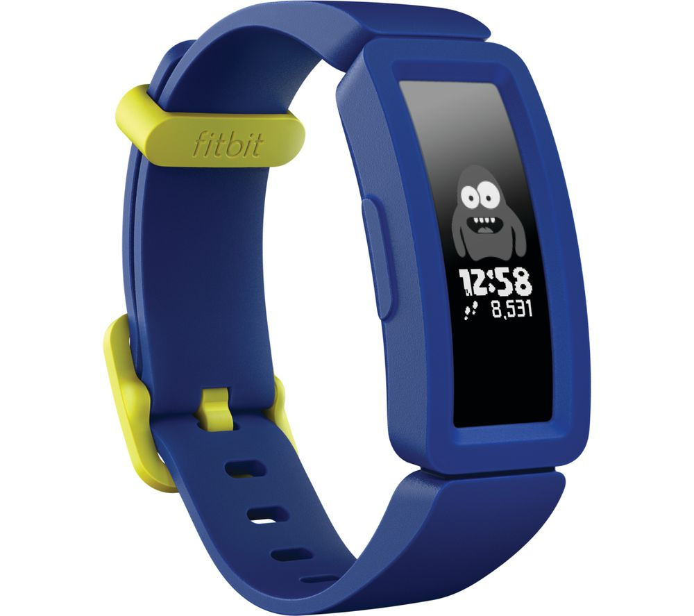 FITBIT Ace 2 Kid's Fitness Tracker - Blue & Yellow, Universal