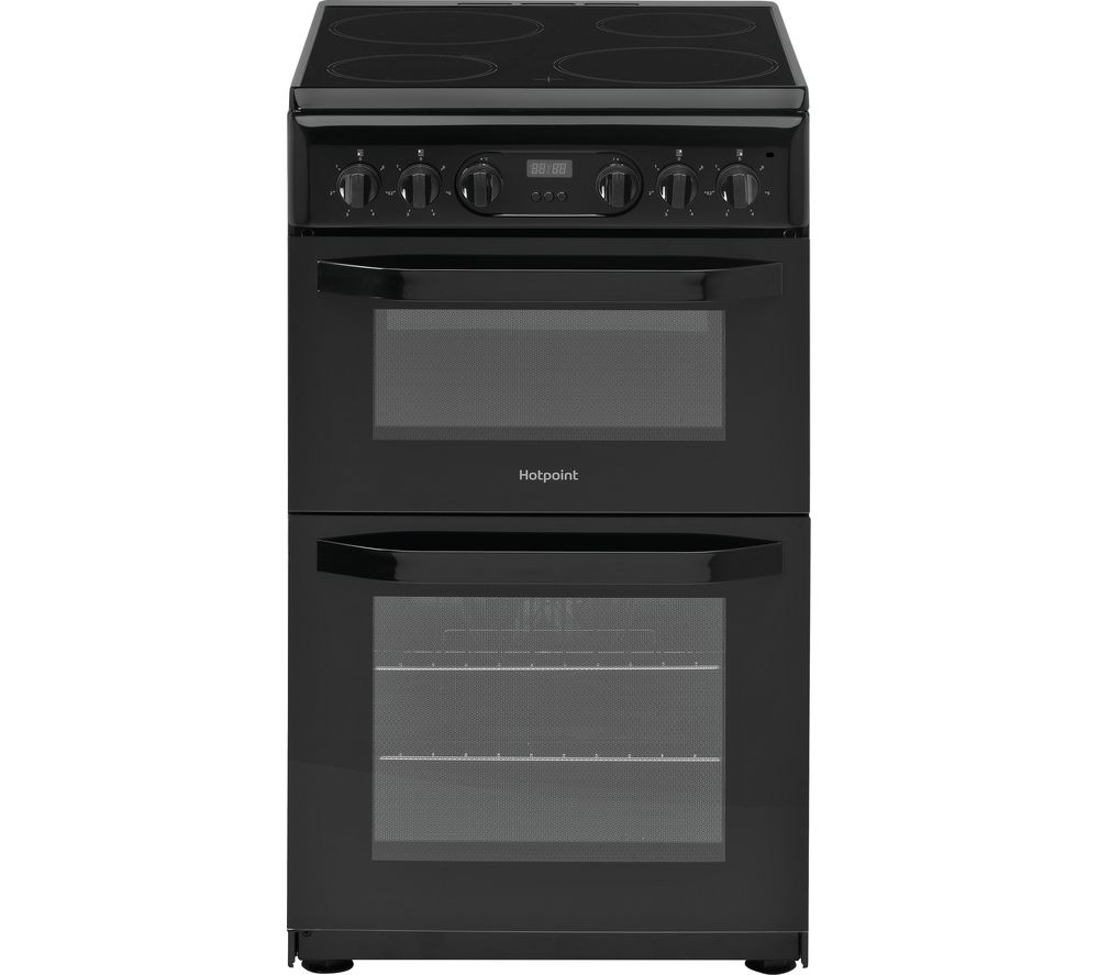 HOTPOINT HD5V93CCB 50 cm Electric Ceramic Cooker - Black