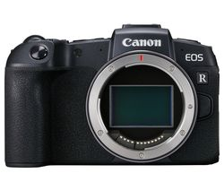 EOS RP Mirrorless Camera with Mount Adapter