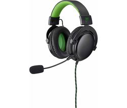 GOJI GX1HS19 Gaming Headset - Green