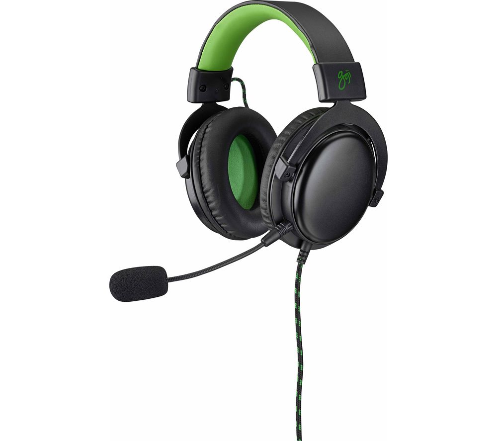 Details about GOJI GX1HS19 Gaming Headset Green Currys