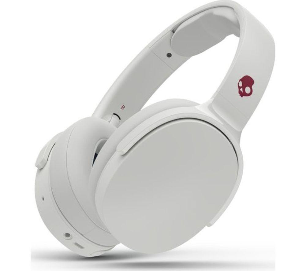 SKULLCANDY Hesh 3 Wireless Bluetooth Headphones - White & Crimson, White