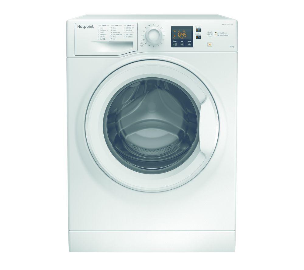 HOTPOINT Core NSWM1043CWUK 10 kg 1400 Spin Washing Machine - White