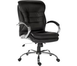 Goliath Light 6957 Bonded Leather Reclining Executive Office Chair - Black