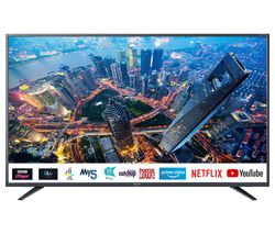 "SHARP 4T-C50BJ4KF2FB 50"" Smart 4K Ultra HD HDR LED TV"