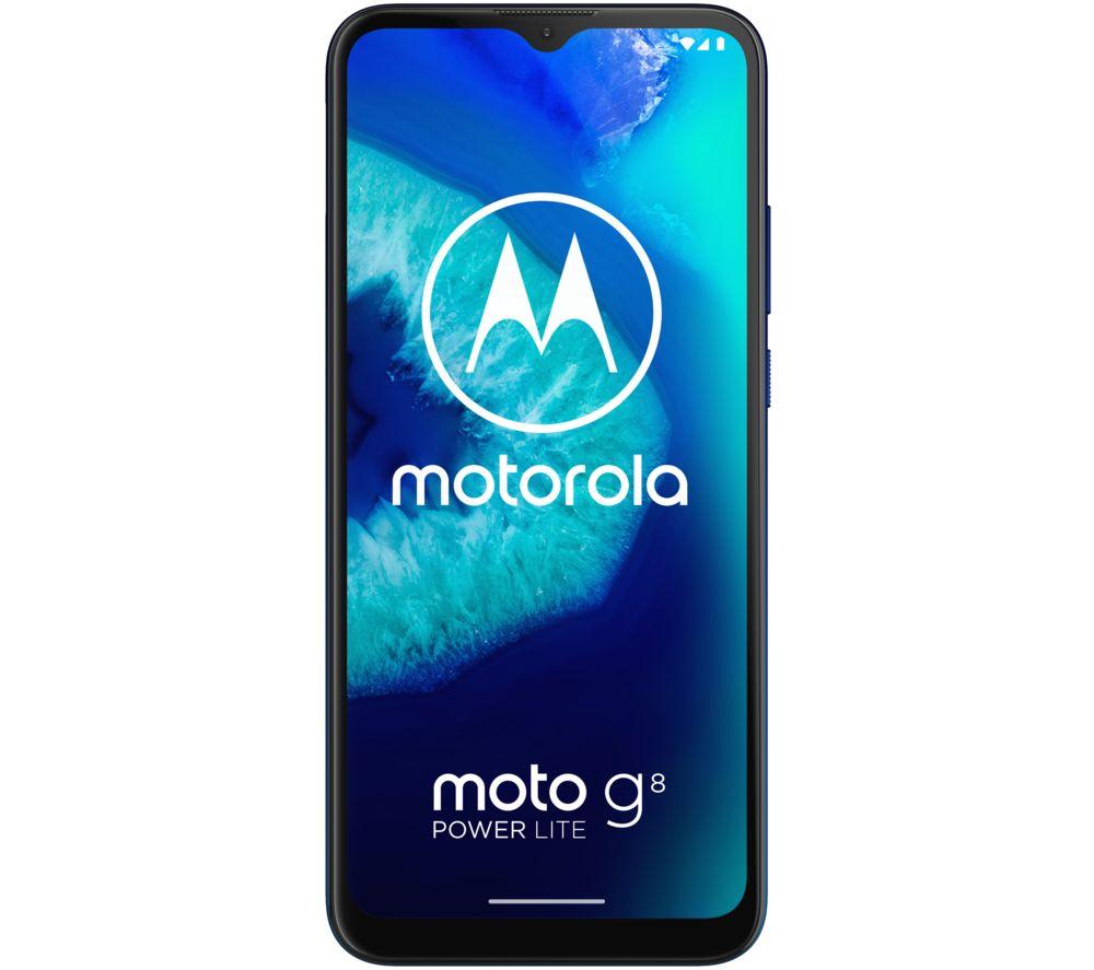 MOTOROLA Moto G8 Power Lite - 64 GB, Royal Blue