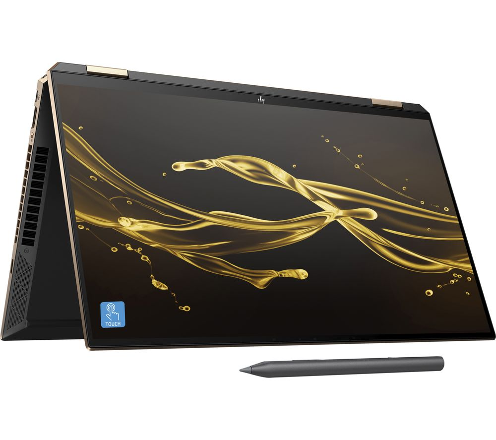 "Image of HP Spectre x360 15.6"" 2 in 1 Laptop - Intel®Core™ i7, 512 GB SSD, Black, Black"