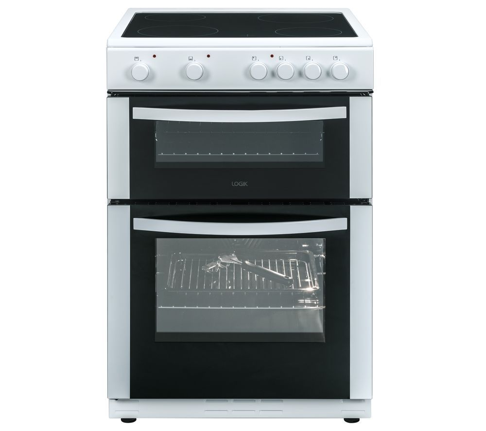 LOGIK LFTC60W16/A 60 cm Electric Ceramic Cooker - White