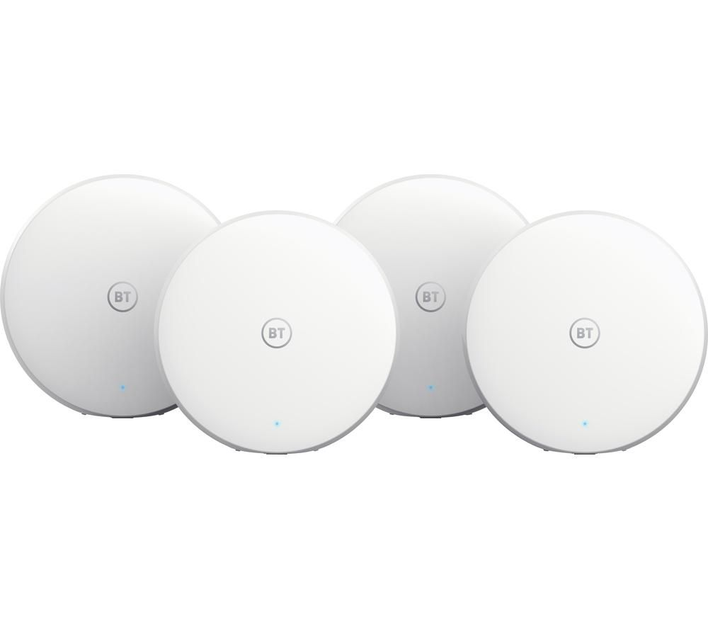 BT Mini Whole Home WiFi System - Quad Pack