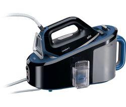 BRAUN CareStyle 5 IS5146BK Steam Generator Iron - Black & Blue Best Price, Cheapest Prices
