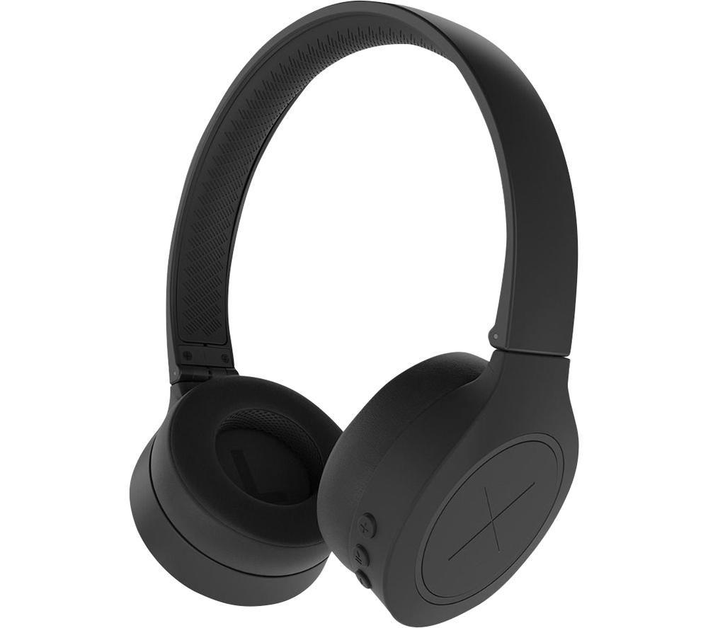 Image of KYGO A3/600 Wireless Bluetooth Headphones - Black, Black