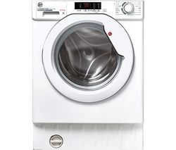 H-Wash 300 HBD 485D2E Integrated 8 kg Washer Dryer - White