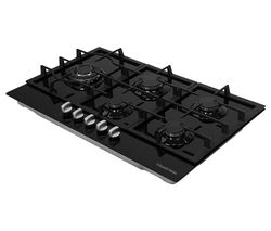 RH86GH701B Gas Hob – Black