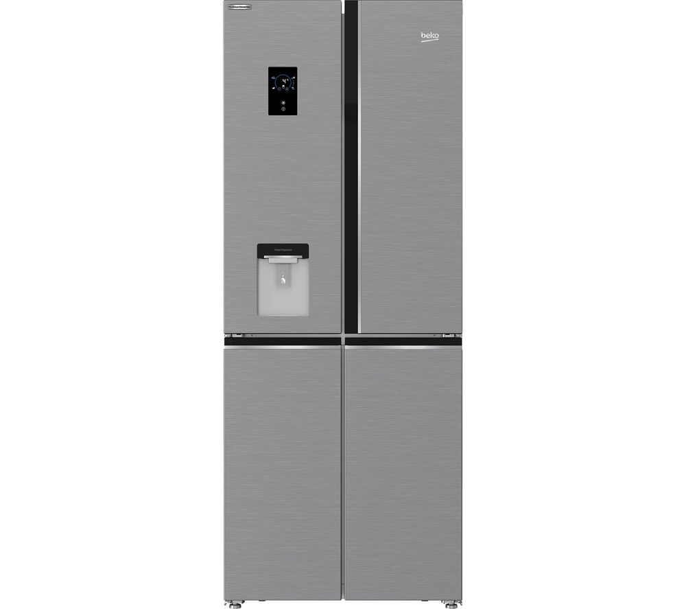 BEKO GNE480EC3DVX Fridge Freezer - Stainless Steel