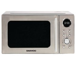 SDA2071GE Microwave with Grill - Silver
