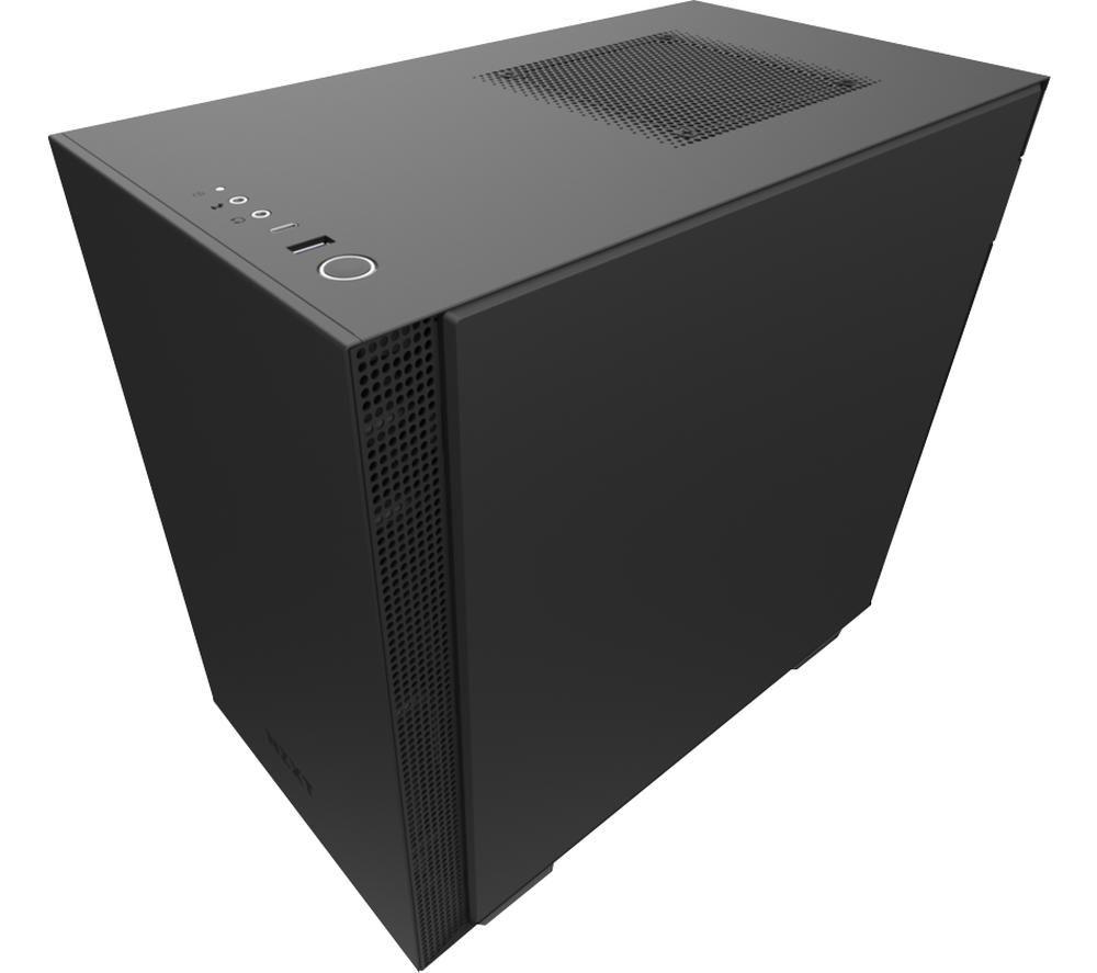Image of NZXT H210 Mini-ITX Mini Tower PC Case - Black, Black