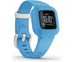 vivofit jr. 3 Kid's Activity Tracker - Stars Blue, Adjustable Band