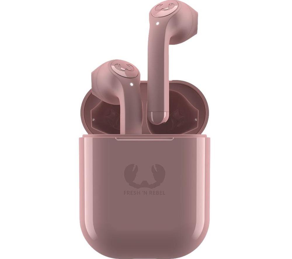 FRESH N REBEL Twins Wireless Bluetooth Earphones - Dusty Pink