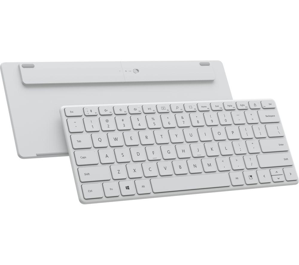 MICROSOFT Designer Compact 21Y-00034 Wireless Keyboard - White