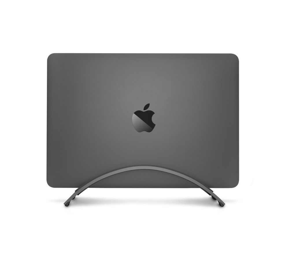 Image of Twelve South BookArc for MacBook | Space-saving vertical desktop stand for Apple notebooks (space grey)*Newest Version*