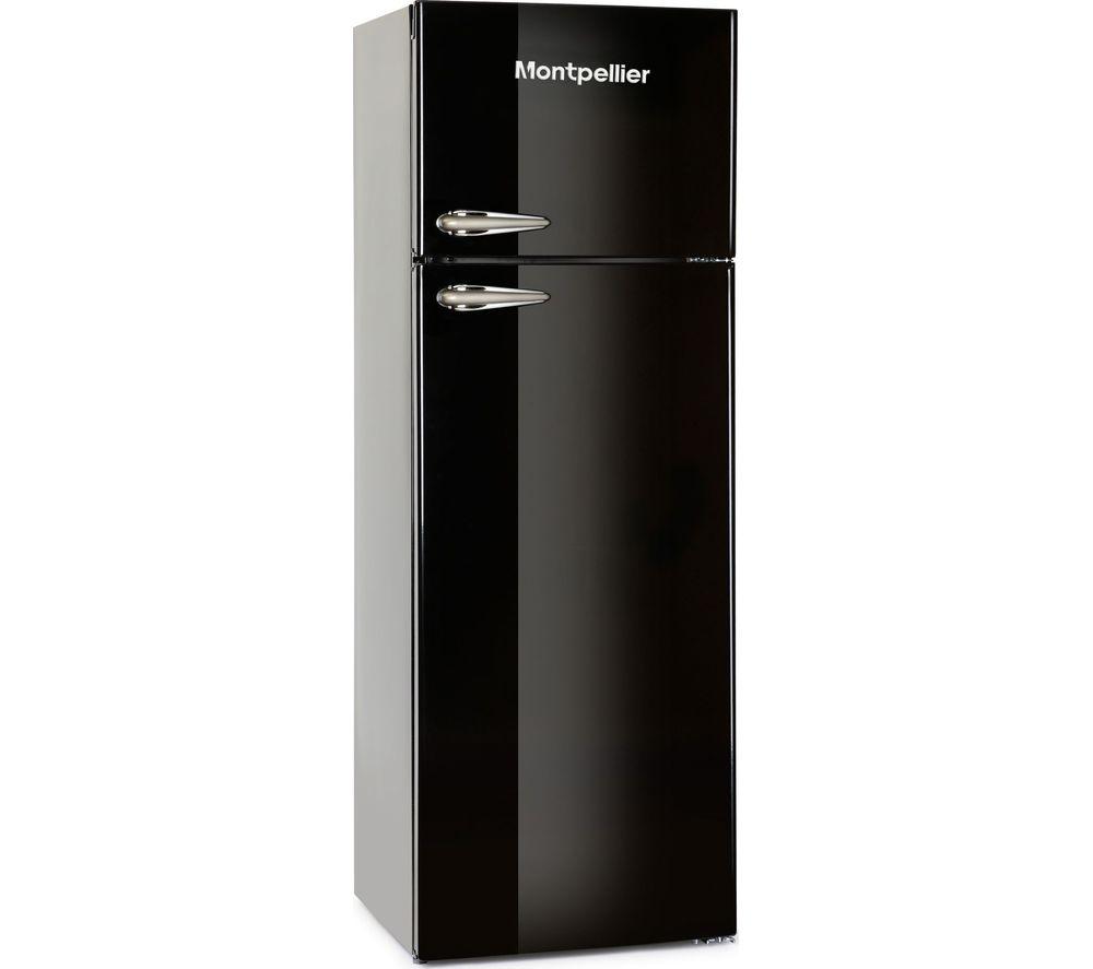 MONTPELLIER Retro MAB346K 80/20 Fridge Freezer - Black