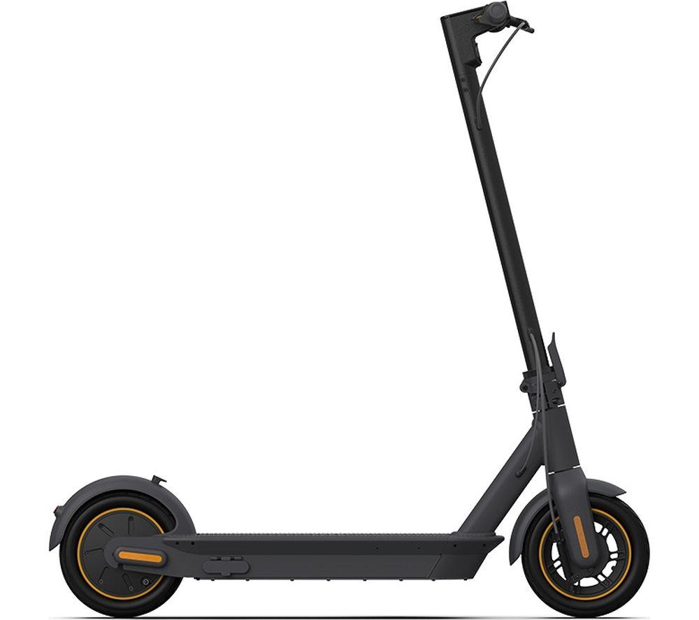 SEGWAY NINEBOT Max G30 Electric Folding Scooter - Dark Grey & Orange, Grey