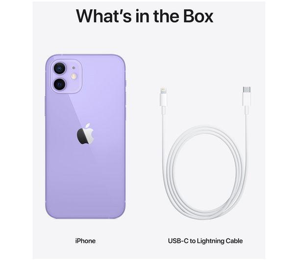 Apple iPhone 12 - 64 GB, Purple 6