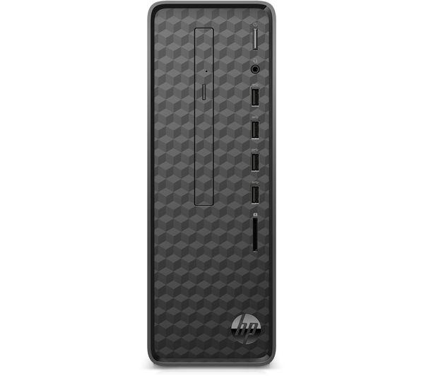 Image of HP S01-aF1011na Desktop PC - Intel®Celeron, 256 GB SSD, Black, Black