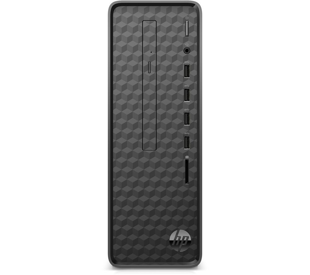 HP Slim S01-aF1011na Desktop PC - Intel® Celeron®, 256 GB SSD, Black