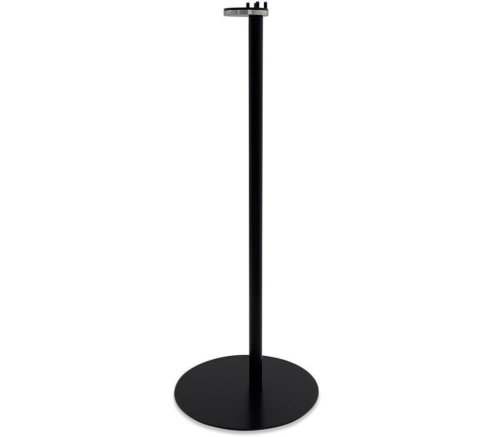 AVF AKVFSS1B1 Sonos One & Play:1 Floorstand Fixed Speaker Bracket - Black, Black